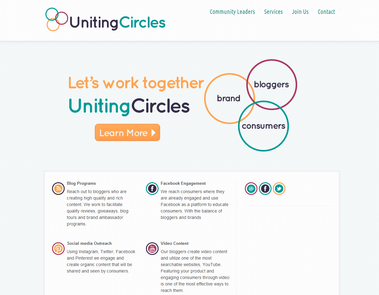 Uniting Circles